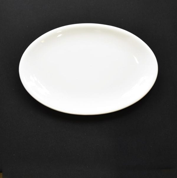 "13¼"" Coup Oval Platter"