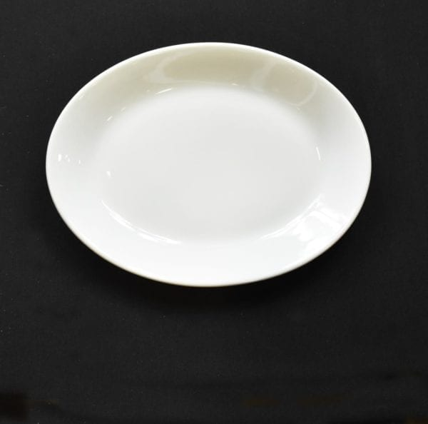 """9¾"""" x 7⅜"""" Coupe Platter"""