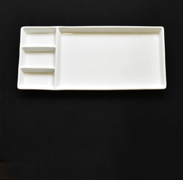 "15"" Sectioned Rectangle Tray"