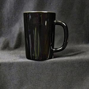 9 oz. Black Coffee Mug
